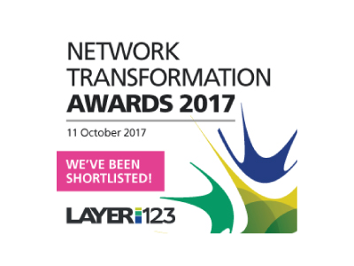 Shortlisted For The Network Transformation Awards in Two Categories